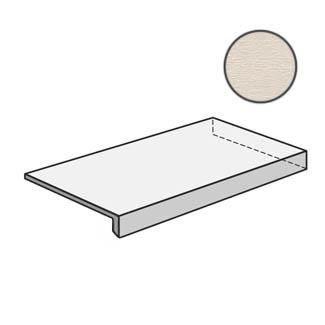 Flow Angolare corner tile DX Bone 603122