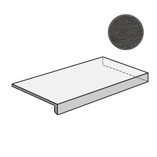 Flow Angolare corner tile DX Dark Grey 603119