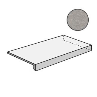 Flow Angolare corner tile DX Light Grey 603117