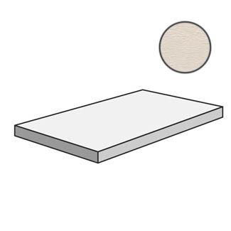 Flow Angolare corner tile SX Bone 603222