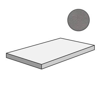 Flow Angolare corner tile SX Medium Grey 603218