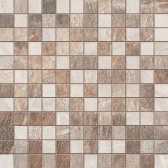 Fossil Mosaico Mini Tessera Cream Beige Brown