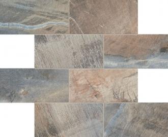 Fossil Mosaico Muretto Fossil Blue