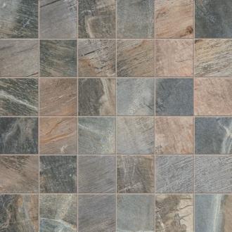 Fossil Mosaico Quadretti Fossil Blue