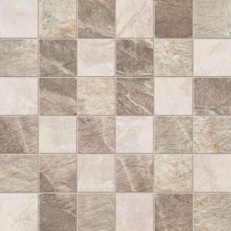 Fossil Mosaico Quadretti Mix Cream Beige Brown