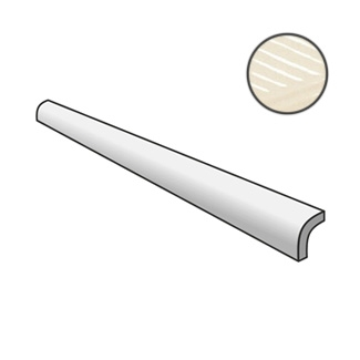 Fragments Pencil Bullnose Ivory 23904