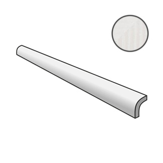 Fragments Pencil Bullnose White Matt 23902