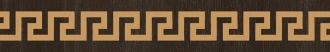 Gold Listelli Legno Greca Moka 68936