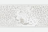 Gran Gala Listello Leopardo B Bianco