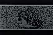 Gran Gala Listello Leopardo B Nero