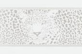 Gran Gala Listello Leopardo D Bianco