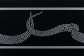 Gran Gala Listello Serpente E Nero