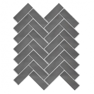 Always Herringbone Mosaic Graphite