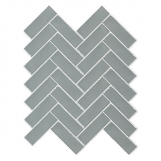 Always Herringbone Mosaic Mint