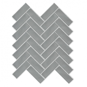 Always Herringbone Mosaic Smoke