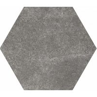 Hexatile Cement Black Gloss