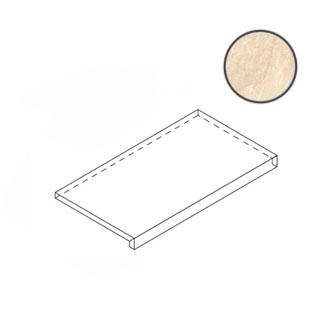 Ступень Italon Materia Magnesio X2 Scalino Frontale 33x60 матовая