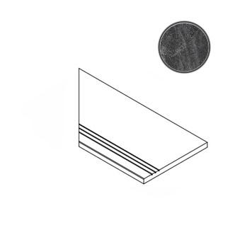 Бордюр Italon Materia Titanio Bordo Grip SX 30x60 матовый