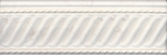 Бордюр Белгравия светлый обрезной BBA001R