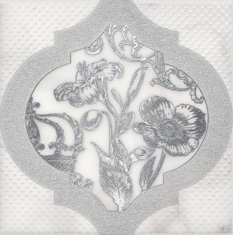 Декор Фрагонар белый HGD\A263\17051