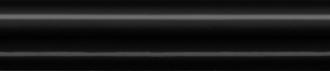 Бордюр Багет Граньяно черный BLD012