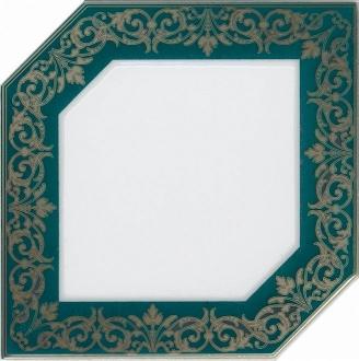 Декор Клемансо зеленый темный HGD\E250\18000
