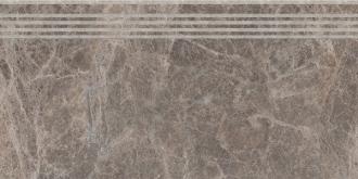 Ступень Манчестер коричневый обрезной SG217700R/GR