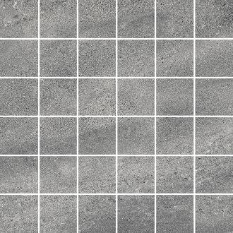 Декор Про Матрикс серый тёмный мозаичный DD6023/MM