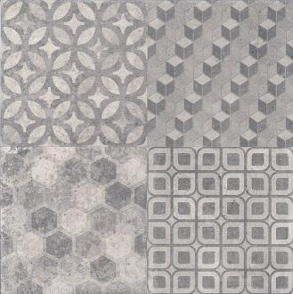 Саттон орнамент серый 4226