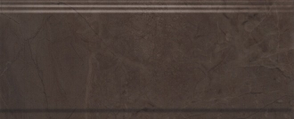Бордюр Версаль коричневый обрезной BDA008R