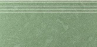 Амба Ступень Зеленый с насечками
