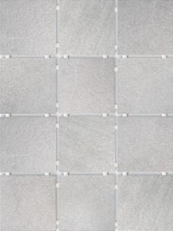 Караоке серый, полотно из 12 частей 9,9х9,9 1220T