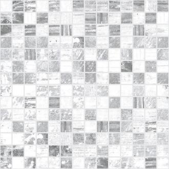 Extra Мозаика серый белый