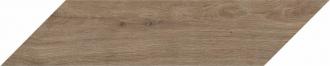 Wooden Chevron Brown