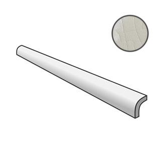 Masia Pencil Bullnose Gris Claro Crackle 23306