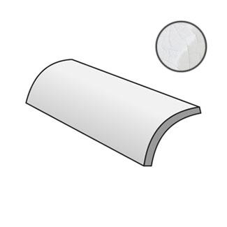 Masia Quarter Round Blanco Crackle 21520
