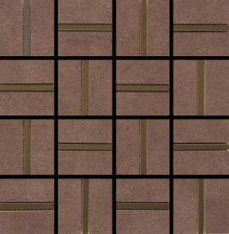 Mosaic City Chocolate Brilho