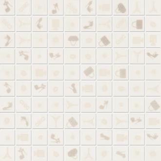 Mosaico Chic White