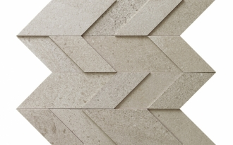 Nordic Stone Mosaico Chevron Norvegia NT03MC