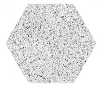 Cocciopesto Ghiaccio Hexagon CP60G