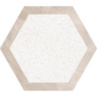 Cocciopesto Sabbia + Calce Hexagon CP60SCA