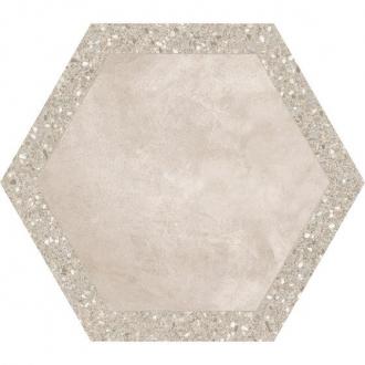 Cocciopesto Terracotta + Sabbia Hexagon CP60TCS