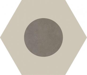 Керамогранит Ornamenta Core Basics Dot-Negative Ashgrey CB60DNA 60x60 матовый