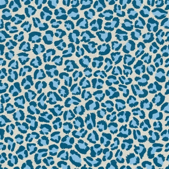 Jungle Leopard Blu AN6060LEOB
