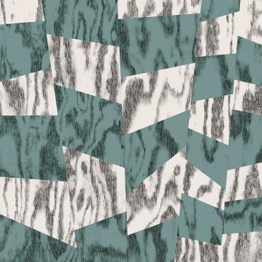 Керамогранит Ornamenta Play Wood Green Fragments PW6060GNF 60x60 матовый