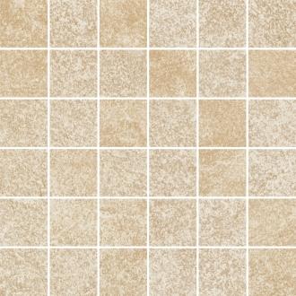 Flash Beige Mozaika Cieta K.4,8X4,8 Polpoler