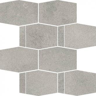 Naturstone Antracite Mozaika Cieta Hexagon Mix