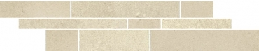 Мозаика Paradyz Naturstone Beige Listwa Mix Paski 14,3x71 матовая