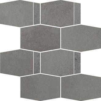 Naturstone Grafit Mozaika Cieta Hexagon Mix