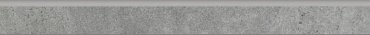 Бордюр Paradyz Optimal Antracite Cokol Polpoler 7,2x75 глянцевый